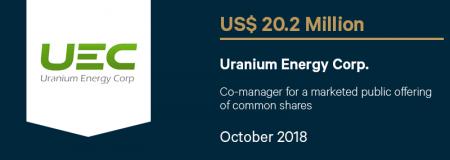 UraniumEnergyCorp