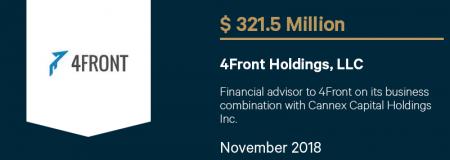 4FrontHoldingsLLC_$321.5M_November2018_Advisory