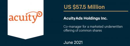AcuityAds Holdings Inc.-June 2021