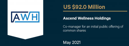Ascend Wellness Holdings-May 2021