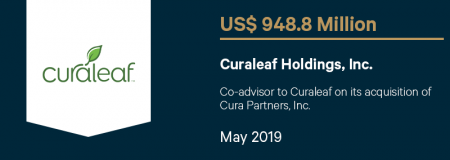 CuraleafHoldingsInc_US$948.8M_May2019_Advisory