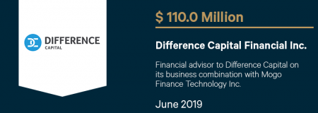 DifferenceCapitalFinancialInc_$110.0M_June2019_Advisory