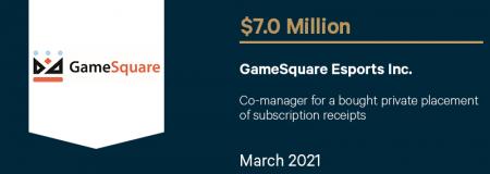 GameSquare Esports Inc-March 2021