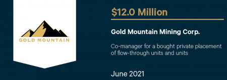Gold Mountain Mining Corp.-June 2021