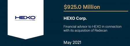 HEXO Corp-May 2021
