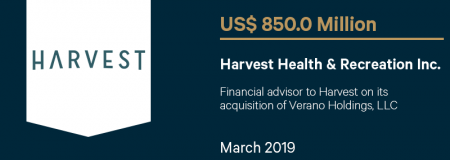 HarvestHealth&RecreationInc_US$850.0M_March2019_Advisory