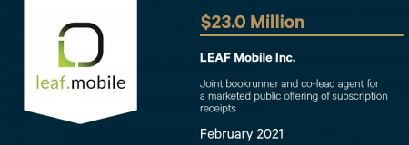 LEAF Mobile Inc-February 2021
