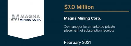 Magna Mining Corp-February 2021