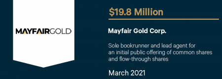 Mayfair Gold Corp-March 2021