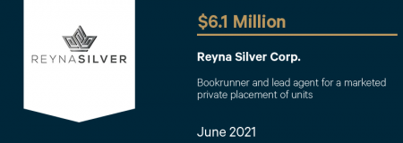 Reyna Silver Corp.-June 2021