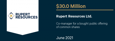 Rupert Resources Ltd.-June 2021
