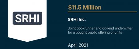 SRHI Inc.-April 2021