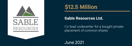 Sable Resources Ltd.-June 2021