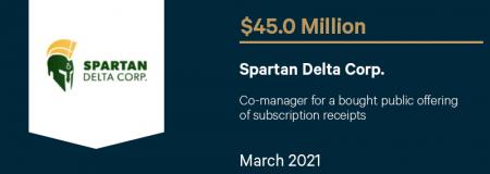 Spartan Delta Corp-March 2021