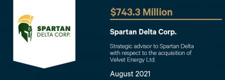 Spartan Delta Corp.-August 2021