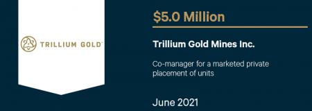 Trillium Gold Mines Inc.-June 2021