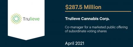 Trulieve Cannabis Corp-April 2021