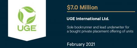 UGE International Ltd-February 2021