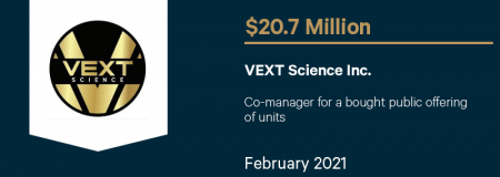 VEXT Science Inc-February 2021