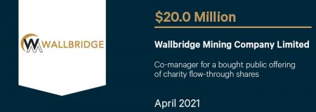 Wallbridge Mining Company Limited-April 2021