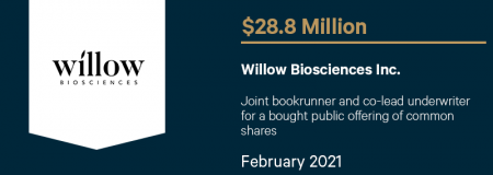 Willow Biosciences Inc.-February 2021
